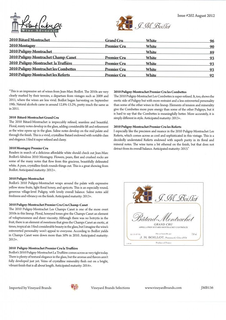 Article Robert Parker Wine advocate blancs 2010 201303281109_0001
